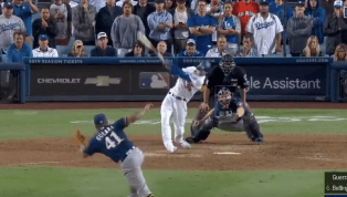 VIDEO: Watch Cody Bellinger Rip Walk-Off Single to Score Hustling Manny Machado