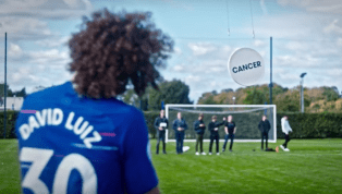 VIDEO: Chelsea Stars Past & Present Take Part in Unique Target Smashing Challenge for Charity