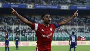 Bartholomew Ogbeche's Hat-trick Helps NorthEast United Edge Chennaiyin FC in Seven-goal Thriller