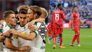 Borussia M'Gladbach - FSV Mainz 05   Die offiziellen Aufstellungen