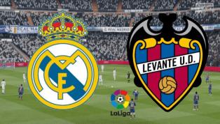 Real Madrid - Levante: ĐỘI HÌNH XUẤT PHÁT