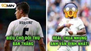 Chấm điểm Real Madrid 1-2 Levante: Đây là cầu thủ duy nhất của Real chơi hay!
