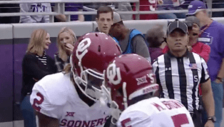 VIDEO: Sooners Penalized for Very Normal TD Celebration on First Score for Some Reason