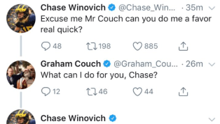 Chase Winovich Puts MSU Writer in a Bodybag on Twitter After Michigan's Rivalry Win