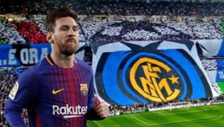 """Messi chấn thương, trang chủ Inter Milan gửi lời nhắn """"có một không hai"""""""