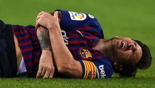 Messi chấn thương và đây là thống kê khiến mọi CĐV Barca lo lắng trước thềm El Clasico