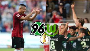 Hannover 96 - VfL Wolfsburg   Die offiziellen Aufstellungen