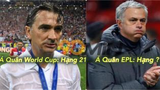 50 HLV GIỎI NHẤT 2018: Zidane chưa #1, Mourinho & Á Quân WC ngoài top 10!