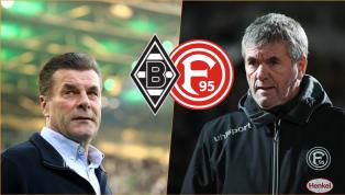 Borussia M'Gladbach - Fortuna Düsseldorf | Die offiziellen Aufstellungen