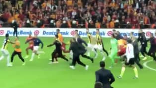 Istanbul Derby Ends With Three Red Cards and a 30-Man Brawl; Social Media Goes Insane