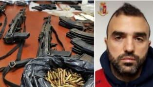 """Arrestato Davide Sau, fratello del calciatore del Cagliari: """"Custodiva un arsenale"""""""