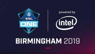 ESL One Birmingham 2019 Dates Announced