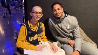 Purdue Superfan Tyler Trent Named Pacers Honorary Team President