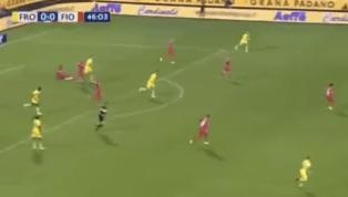 VIDEO | Frosinone 0-1 Fiorentina: ecco la rete di Benassi per il vantaggio viola
