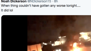 VIDEO: Washington Basketball Team's Bus Catches Fire After Loss to Auburn