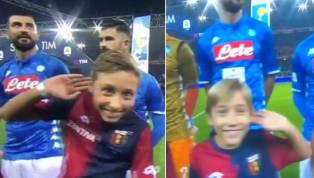 """Genoa - Napoli, in campo dei """"piccoli Mourinho"""" prima della partita: ecco cosa è successo"""