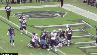 VIDEO: Watch Patriots Cut Into Deficit With James Develin Rushing TD