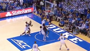 VIDEO: Zion Williamson Builds on Duke Fear Factor With Monster Block Against Army