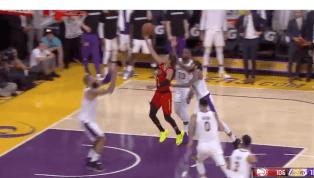 TREMENDO: Tyson Chandler le dio el triunfo a Lakers con este tapón en el último segundo