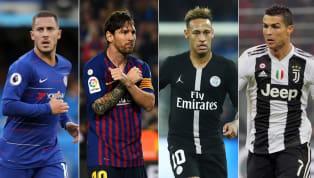 Top 10 cầu thủ xuất sắc nhất châu Âu mùa này: Ronaldo chỉ về thứ 4!