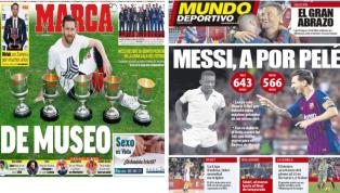 El 'pichichi' Messi y los números de Solari, protagonistas de las portadas