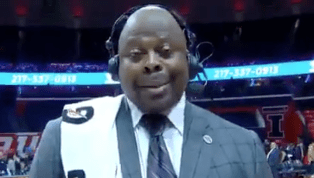 VIDEO: Patrick Ewing Has Hilarious Inappropriate Slip-Up During Postgame Interview