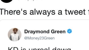 Someone Dug Up This Old Draymond Green Tweet About Kevin Durant
