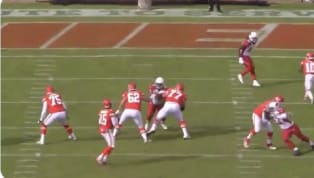 VIDEO: Closer View of Patrick Mahomes' TD Pass to Tyreek Hill is Unreal