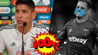 Edson Álvarez calienta el partido contra Argentina y le manda picante mensaje a 'Chicharito'
