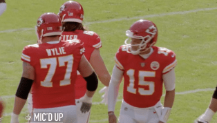 VIDEO: Patrick Mahomes Was Mic'd Up and His Voice Almost Sounded Normal