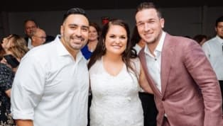 DIVERTIDO: Alex Bregman se apareció en una boda luego de ser invitado vía Snapchat