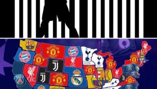 La Juventus e l'effetto CR7: la maglia bianconera è la più venduta in quattro Stati USA