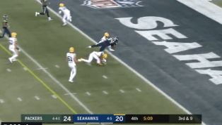 VIDEO: Russell Wilson Hits Ed Dickson for Game-Winning Touchdown