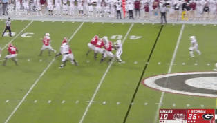 VIDEO: Georgia QB Justin Fields Shows Off Cannon With 57-Yard TD Pass