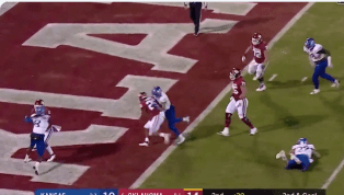 VIDEO: Kennedy Brooks Extends Oklahoma's Lead With a 7-Yard TD