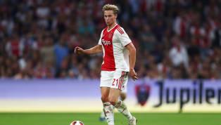 Frenkie de Jong All But Confirms Ajax Stay Despite Barcelona Interest