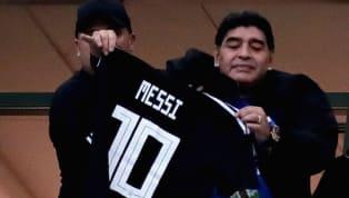 ¿EN QUÉ QUEDAMOS? | Maradona dio marcha atrás en sus fuertes críticas a Messi