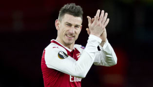 Laurent Koscielny Returns to First Team Training Following Lengthy Injury Lay Off
