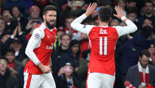 Olivier Giroud Reveals how Mesut Ozil Used to Make him Jealous at Arsenal