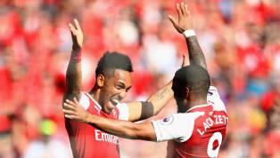 Pierre-Emerick Aubameyang Trolls Liverpool Fans Over Alisson With Lacazette Reminder
