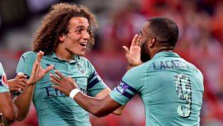 Alexandre Lacazette Reveals How He's Helping Matteo Guendouzi Feel at Home in London