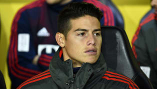 James Rodriguez Facing Weeks Sidelined After Suffering Knee Injury During Training