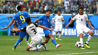 Brazil 2-0 Costa Rica: Late Double Makes Victory Look Easy for Brazil In Hard Fought Encounter