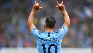 VIDEO: GOL! Aguero Bawa Manchester City Unggul 1-0 dari Cardiff City