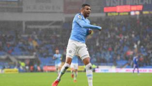 Usai Cetak Gol Pertama Bagi Man City, Mahrez Ungkapkan Kegembiraannya