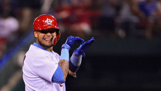 Yadier Molina Passes Cubs Hall of Famer for Most Games Caught With One Team