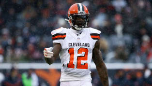 Josh Gordon Listed as Questionable for Sunday's Patriots Debut