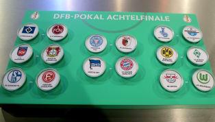 Der Spielplan für das Achtelfinale im DFB-Pokal steht