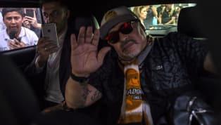 VIDEO: Diego Maradona Arrives to Coach Dorados, a Club at the Heart of Mexico's Biggest Drug Cartel