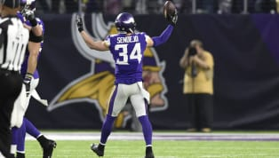 Andrew Sendejo Given Major Fine for Hit Refs Told Mike Zimmer Should Be Legal